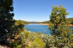 Serpentine, Western Australia. Lush green landscape with the Serpentine River under blue skies in Serpentine, Western Australia Stock Photography