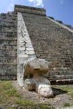 Serpents et temple Photo stock