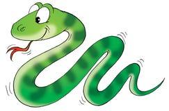 Serpiente stock de ilustración
