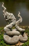 Serpiente budista de dios Imagenes de archivo