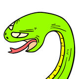 Serpiente cartoon Royalty Free Stock Photo