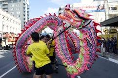 Serpiente china del Año Nuevo de Wellington Foto de archivo libre de regalías