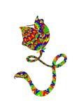Serpiente colorida Fotos de archivo