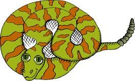 Serpiente de cascabel Imágenes de archivo libres de regalías