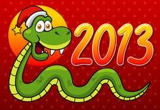 Serpiente de la historieta Foto de archivo libre de regalías