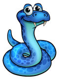Serpiente de la historieta Imagen de archivo