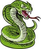 Serpiente de rey cobra ilustración del vector