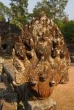 Serpiente del Naga en Sra Srang Imagen de archivo libre de regalías