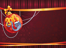Serpiente - el símbolo del Año Nuevo 2013. Fotos de archivo libres de regalías