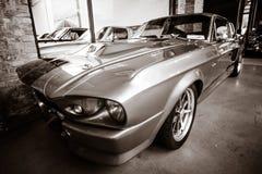 Serpiente estupenda de Shelby GT 500E Fotos de archivo libres de regalías