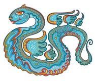 Serpiente feliz. Foto de archivo