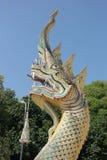 Serpiente gigante tailandesa Imágenes de archivo libres de regalías