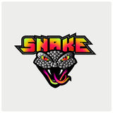 Serpiente Logo Template Imagen de archivo