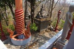 Serpiente roja del naga Imagen de archivo libre de regalías