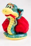 Serpiente - símbolo de 2013 Fotos de archivo libres de regalías