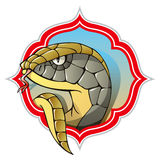 Serpiente, símbolo del año que viene Foto de archivo