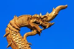 Serpiente, templo de Padad en Chiangmai Tailandia foto de archivo libre de regalías