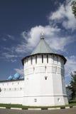 Serpukhov Vysotsky修道院 免版税图库摄影