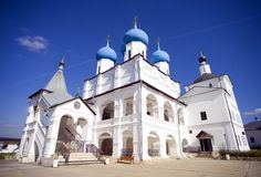 Serpukhov Vysotsky monastery Royalty Free Stock Images