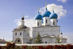 Serpukhov Vysotsky monastery Royalty Free Stock Photography