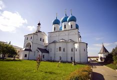 Serpukhov Vysotsky monastery Royalty Free Stock Image