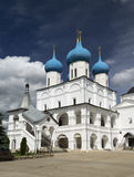 Serpukhov Vysotsky monastery. RUSSIA, Serpukhov Vysotsky monastery on a Sunny summer day Stock Photos