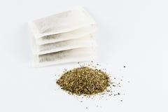Serpyllum de las bolsitas de té y del timo Fotografía de archivo