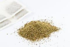 Serpyllum de las bolsitas de té y del timo Fotografía de archivo libre de regalías