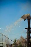Serrín seco de colada Foto de archivo libre de regalías