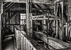 Serração velha de Michigan Imagem de Stock Royalty Free
