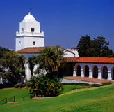 Serra博物馆,圣地亚哥 免版税库存照片