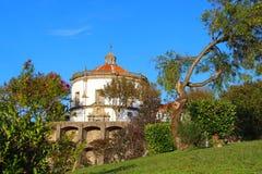 Serra在波尔图,葡萄牙做毛发的修道院 免版税库存图片