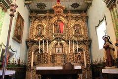 Serra Chapel at Mission San Juan Capistrano Stock Photo