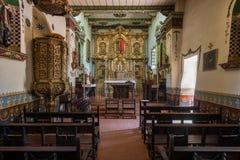 Altar Serra Chapel Mission San Juan Capistrano Stock Photo