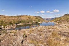 Serra da Canastra park narodowy Zdjęcia Stock