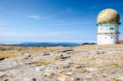 Serra da Estrela, Torre,葡萄牙上面  库存图片