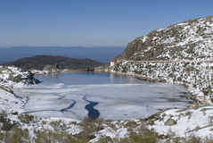 Serra da Estrela city Stock Photography