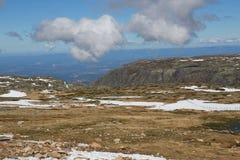 Serra da Estrela. Mountain view, Serra da Estrela, the highest point of Portugal Royalty Free Stock Image