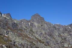 Serra da Estrela. Mountain view in Portugal Royalty Free Stock Image
