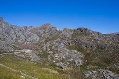 Serra da Estrela. Mountain view in Portugal Stock Photos