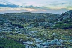 Serra da estrela natural park. 2014 Stock Images