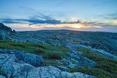 Serra da estrela natural park. stock image