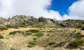 Serra da Estrela Natural Park. Serra da Estrela `Star Mountain Range` is the highest mountain range in Continental Portugal Stock Images