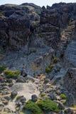 Serra da Estrela. Rocky landscape near the highest point of Serra da Estrela, Portugal Stock Photos