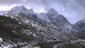 Serra da Estrela with snow. Portugal Stock Photography