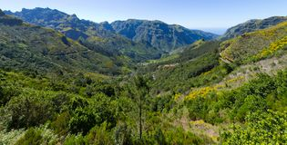 Serra de Agua valley on Madeira island, Portugal Royalty Free Stock Images