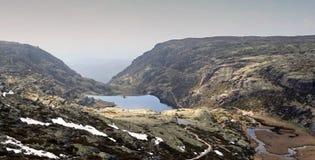 Serra de Estrela. Mountains in Portugal Royalty Free Stock Photos