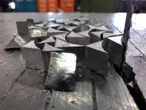 Serra de fita vertical Imagem de Stock