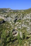 Serra de Guara fotografia de stock