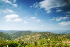 Serra de Monchique Royalty Free Stock Images